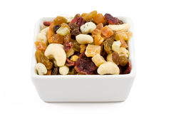 Fruit and nut Royalty Free Stock Image