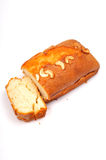 Fruit and nut cake royalty free stock images