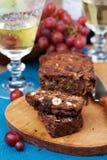 Fruit and nut cake Stock Photography