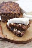 Fruit and nut cake Stock Image