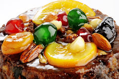 Fruit and Nut Cake Royalty Free Stock Photos