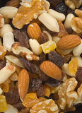 Fruit and Nut Mix. Close Up Royalty Free Stock Photo