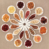 Fruit and Nut Selection Stock Image