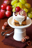 Fruit&Nuts Cake. Royalty Free Stock Image