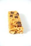 Fruit and oats health bar 2. Fruit and oats health bar on white Royalty Free Stock Image