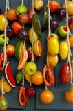 Fruit op de Deur Royalty-vrije Stock Afbeeldingen