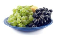 Fruit op een plaat Royalty-vrije Stock Fotografie
