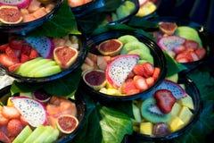 Fruit op markt Stock Afbeelding