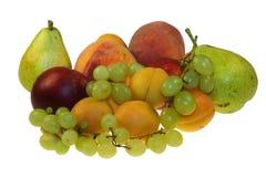 Fruit op witte achtergrond Royalty-vrije Stock Afbeeldingen