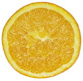 Fruit orange coupé en tranches images stock