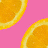 Fruit orange coupé en tranches Photographie stock libre de droits