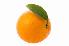 Fruit orange d'isolement Image stock