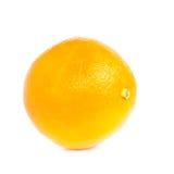 Fruit orange d'isolement sur le fond blanc Image stock