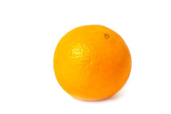 Fruit orange dans le blanc Photographie stock libre de droits