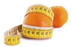 Fruit orange de mandarine ou de mandarine Image libre de droits