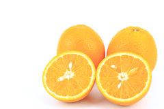 Fruit orange frais Photo libre de droits