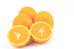 Fruit orange frais Photo stock