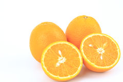 Fruit orange frais Photographie stock libre de droits