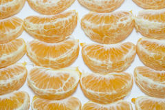 Fruit orange frais avec le fond blanc Photo stock