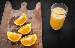 Fruit Orange natural food raw Gourmet juice. Orange Raw fruit black natural food gasta Gourmet healthy delicious juice royalty free stock photos
