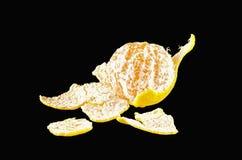The fruit of the orange peeled Royalty Free Stock Photos