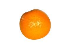 Fruit orange sur le fond blanc Photos libres de droits
