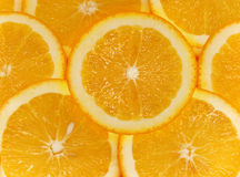 Fruit  oranges  cut Stock Photography