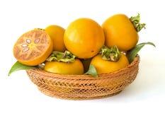 Fruit oriental de kaki Photographie stock