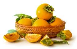 Fruit oriental de kaki Photo libre de droits