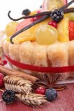 Fruit pastry Royalty Free Stock Photo