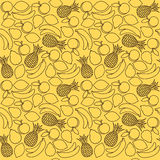 Fruit pattern Stock Image