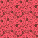 Fruit pattern Royalty Free Stock Photo