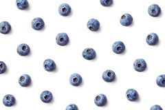 Fruit pattern of blueberries stock photos