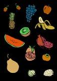 Fruit pattern Royalty Free Stock Images
