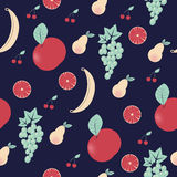Fruit pattern. Juicy and delicious fruit pattern Royalty Free Stock Image