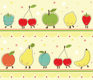 Fruit_Pattern Stock Photos