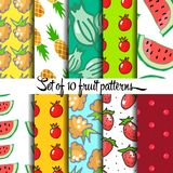 Fruit pattern Stock Photo