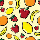 Fruit pattern Royalty Free Stock Photography