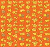 Fruit pattern Royalty Free Stock Photo