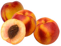 Fruit a peach and apricot hybrid Royalty Free Stock Photography