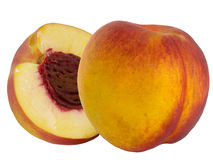 Fruit a peach an apricot result of crossing Royalty Free Stock Images