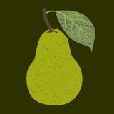 Fruit pear clip art Royalty Free Stock Image