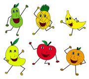 Fruit people Royalty Free Stock Photography