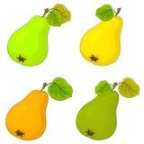 Fruit, peren Stock Afbeelding