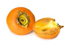 Fruit_persimmon Stockbild