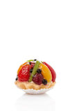 Fruit petite cake Royalty Free Stock Photos