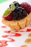 Fruit petite cake Stock Photography