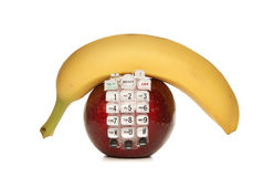 Fruit Phone Royalty Free Stock Photography