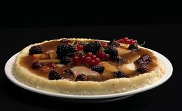 Fruit pie Stock Photos