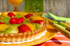 Fruit pie Stock Photography